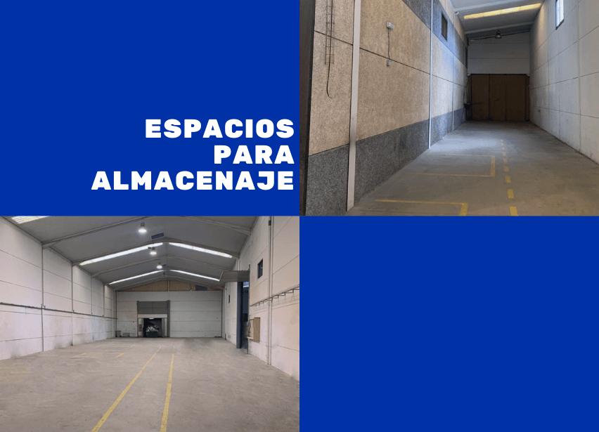 Nuevo servicio: alquiler de espacios para almacenaje de mercancías